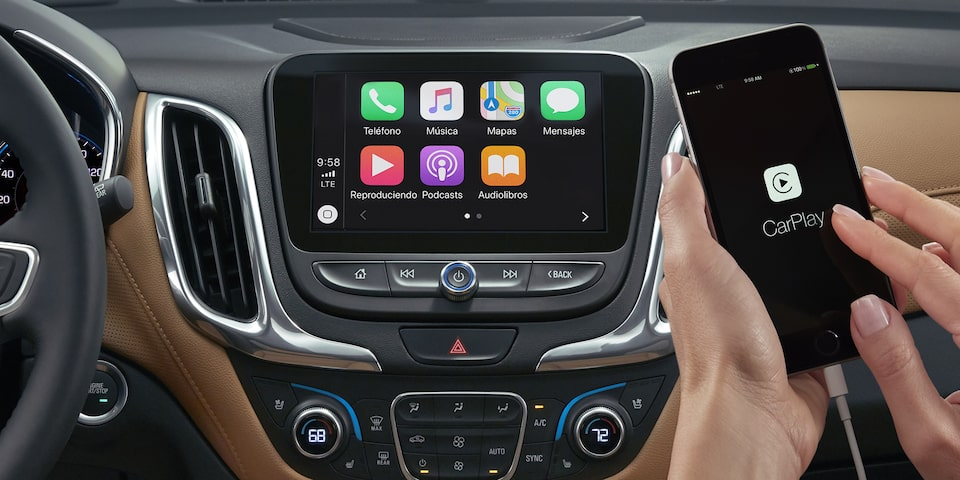 Chevrolet Equinox 2020, camioneta SUV incluye Smartphone Integration con Android Auto™ y Apple CarPlay™