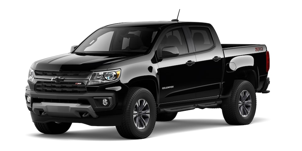 Chevrolet Colorado 2021 en color negro